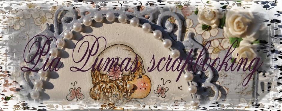Pia Pumas scrapbooking