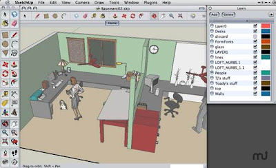 Google Sketchup - Free 3D Modeling Applications for Windows