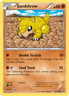 Sandshrew BREAKthrough Pokemon Card