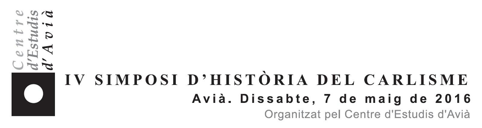 IV SImposi d'Història del Carlisme