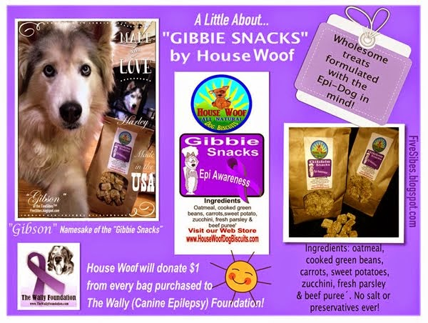 "Gibson is Namesake of Wholesome Vermont, USA Baked Treats - the  ""Gibbie Snacks!!!"""