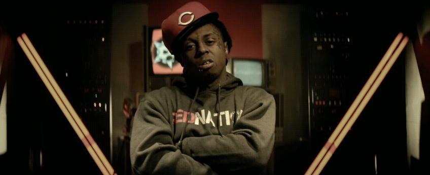 Lil Wayne no clipe Red Nation
