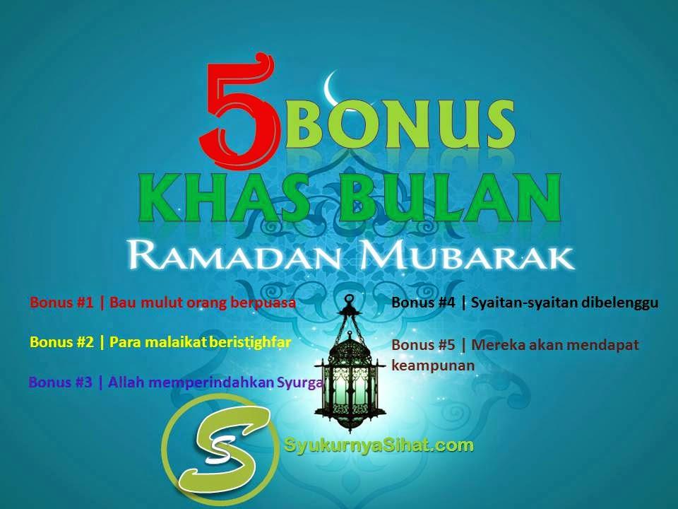 Wordless Wednesday | Bonus Khas Bulan Ramadhan Mubarak