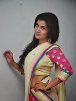 Actress Neethu Chowdary Half saree photo shoot-cover-photo
