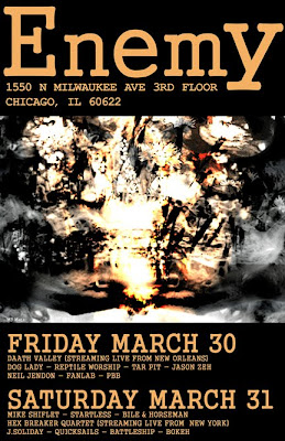 Enemy, A Fest: March 30th & 31st