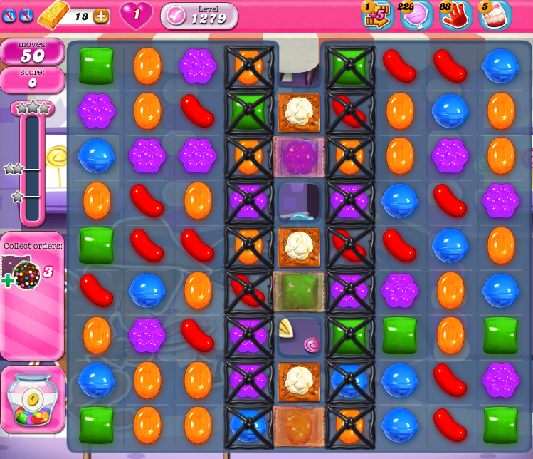 Candy Crush Saga 1279