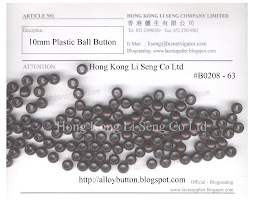 Plastic Ball Button Supplier - Hong Kong Li Seng Co Ltd