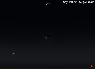 moon jupiter mars september 1