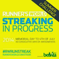 #RWRunStreak