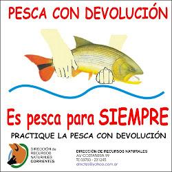 PESCA CON DEVOLUCION
