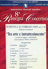 AFICHE ITALIANO, 2003