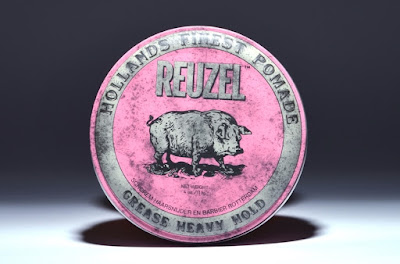 Reuzel Pomade Pink Grease Heavy Hold Pig