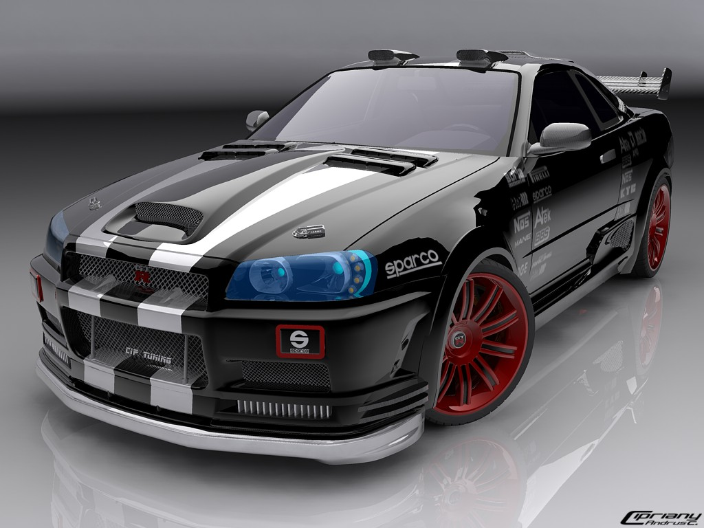 Fast Cars: Nissan Skyline Images Wallpapers