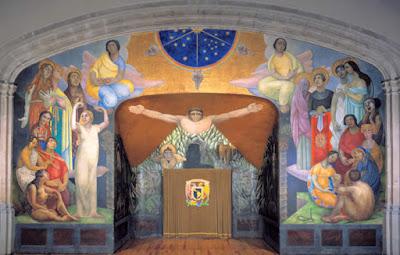 Diego Rivera, Mural de la creación