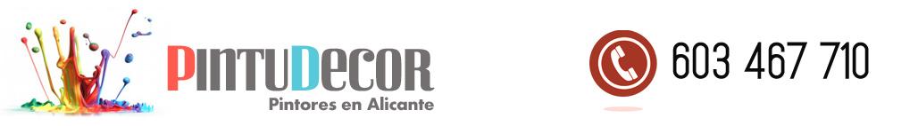 Pintor en Alicante · 603 467 710 · SOLICITE PRESUPUESTO