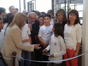 2014:Se amplió el Liceo con cuatro aulas nuevas