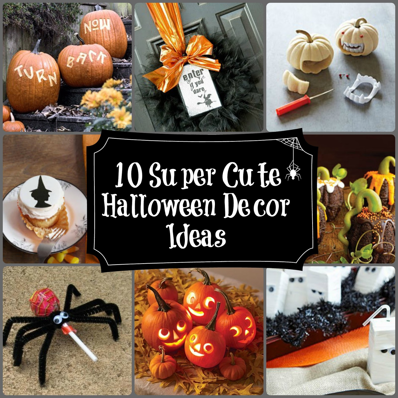 Cute Halloween Decorations For Kids  Viewing Gallery - Adorable Halloween Decorations