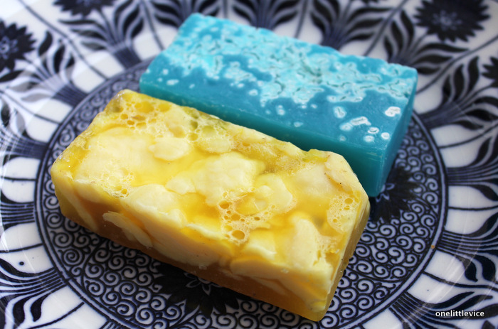 one little vice beauty blog: lush vegan society approved soaps