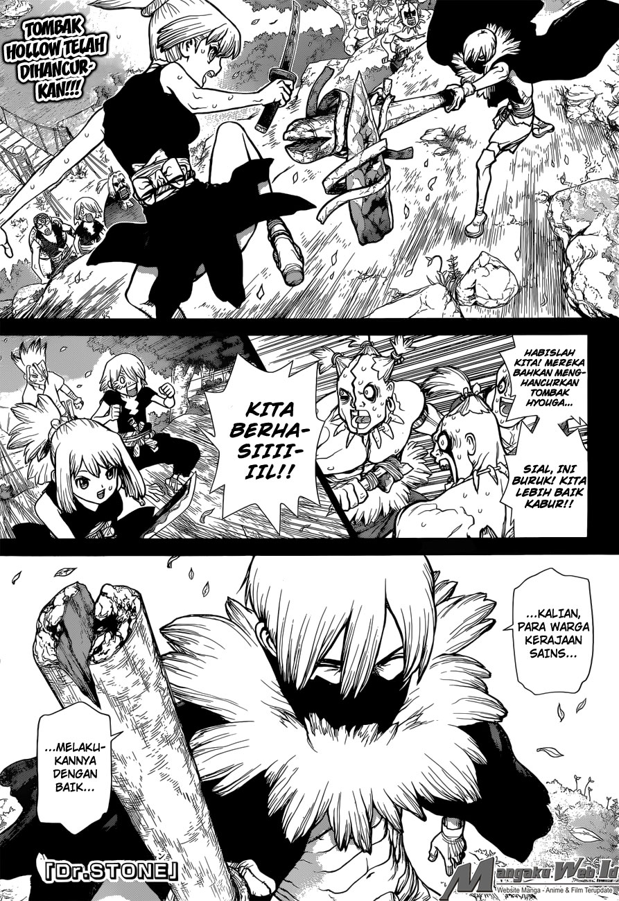 Dr. Stone Chapter 49-1