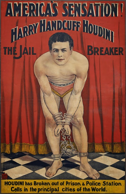 the nypl dates it as 1900 1906 but according to collector gale molovinsky who owns one of these rare sheets houdini commissioned it right