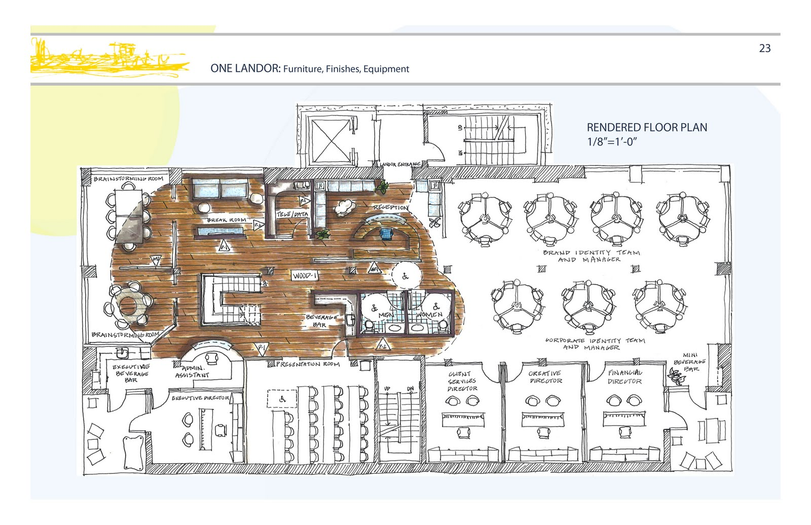 Aubrey duncan interior design renderings for Rendered floor plan