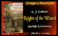 A.J. Gallant's Knights of the Wizard Spotlight & Giveaway