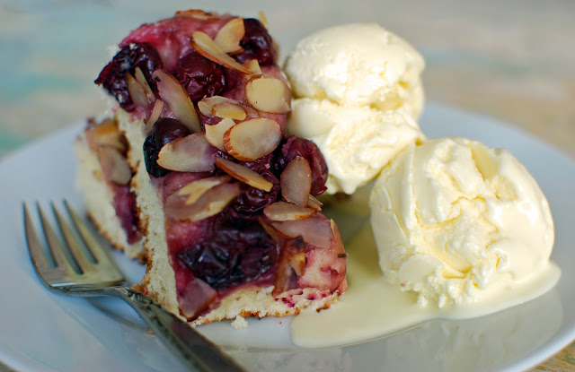 The Kitchen Boudoir: Cherry Almond Focaccia & Nudo Olive ...