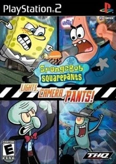 Torrent Super Compactado SpongeBob SquarePants Lights, Camera, Pants Bob Esponja PS2