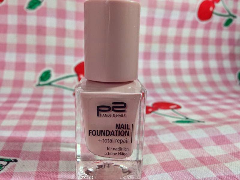 P2 Nagellacke - Nail Foundation - www.annitschkasblog.de
