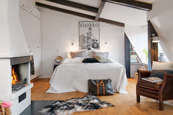 dormitorio pequeño apartamento