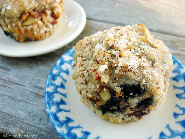 Blueberry Energy Muffins from @KatrinasKitchen