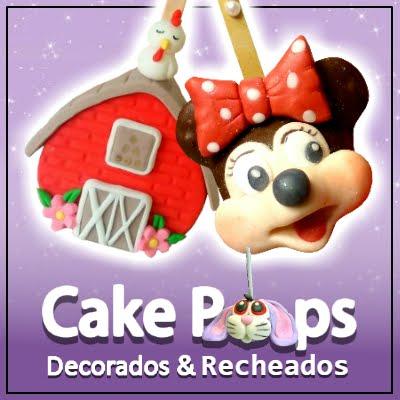 Cake Pops Decorados e Recheados