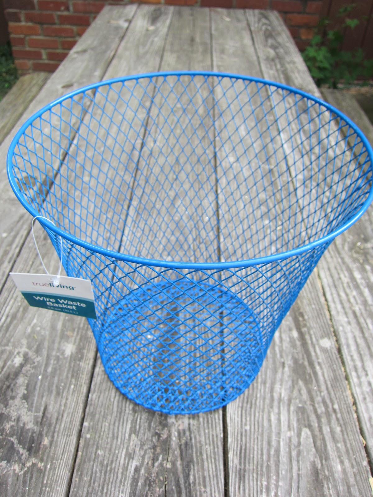 Frugal Ain\'t Cheap: Wire waste basket