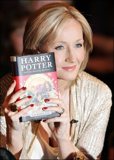 Sally's: J.K. Rowling and Harry Potter books.