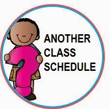 Another Class SCHEDULE