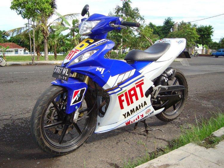 Modifikasi Jupiter MX Fiat motoGP