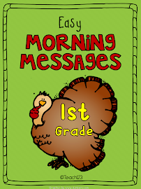 Morning Messages: 1st