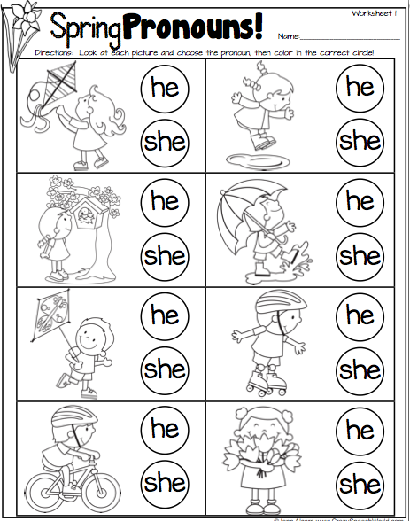 Pronouns | Free Language Stuff