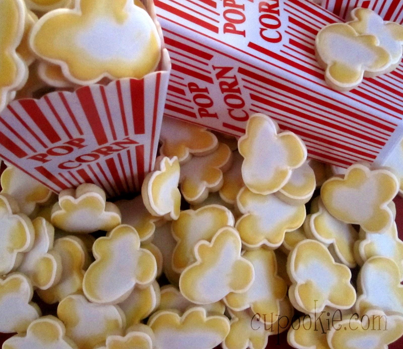 Cupookie: Popcorn Cookies