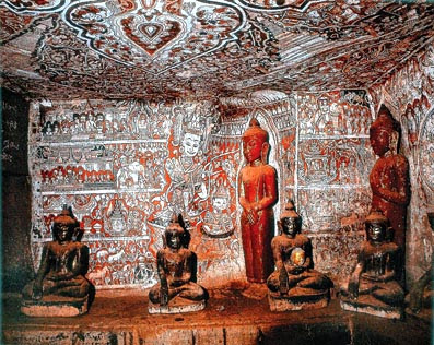 Bagan Mural Paintings Art and Sculptures
