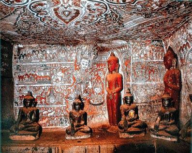 Bagan Mural Paintings Art and Sculptures