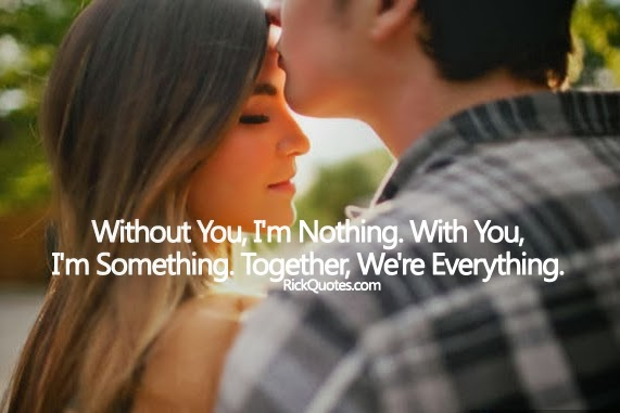 couple love hug quotes Together We Are Everything