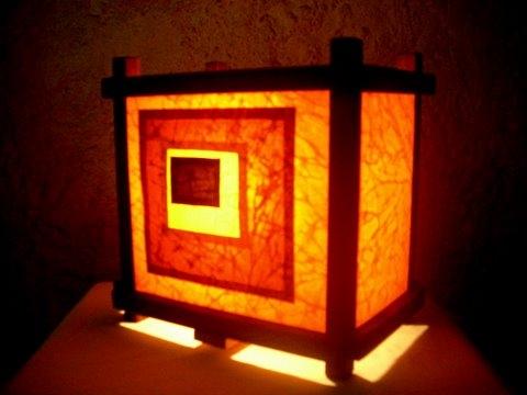 Mon galeria virtual lamparas artesanales - Lamparas de pie artesanales ...