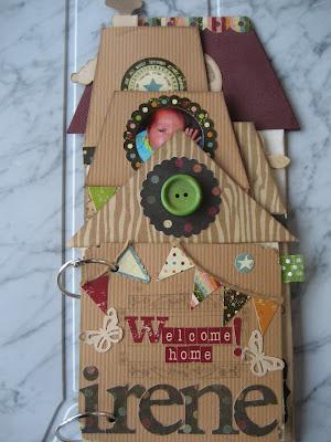 Álbum scrapbook para bebé recién nacido/ Baby scrapbook