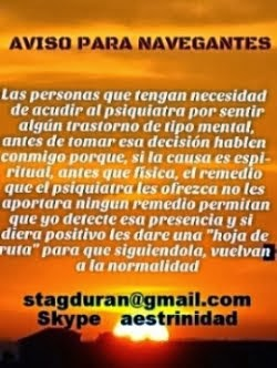 AVISO A NAVEGANTES