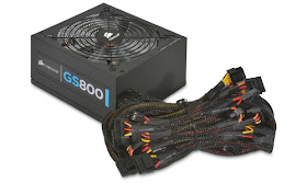 Corsair CMPSU-800G Gaming Series GS800 800W ATX Tri Color LED Power Supply
