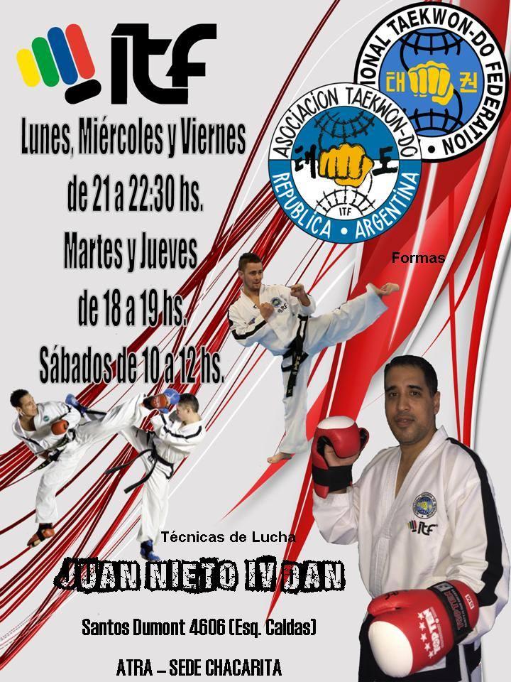 Clases de taekwondo juveniles y adultos