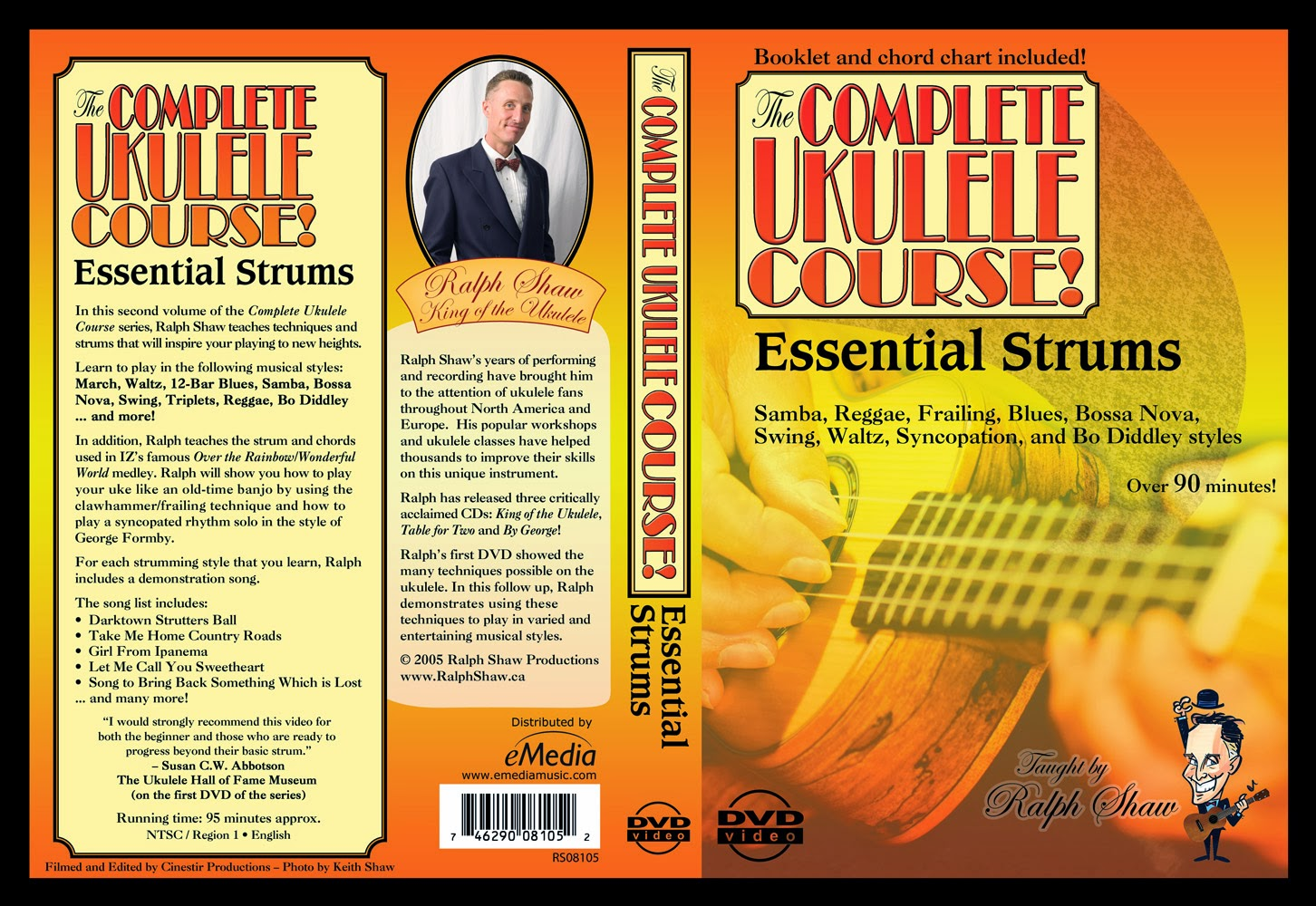 Essential Strums for the Ukulele on DVD