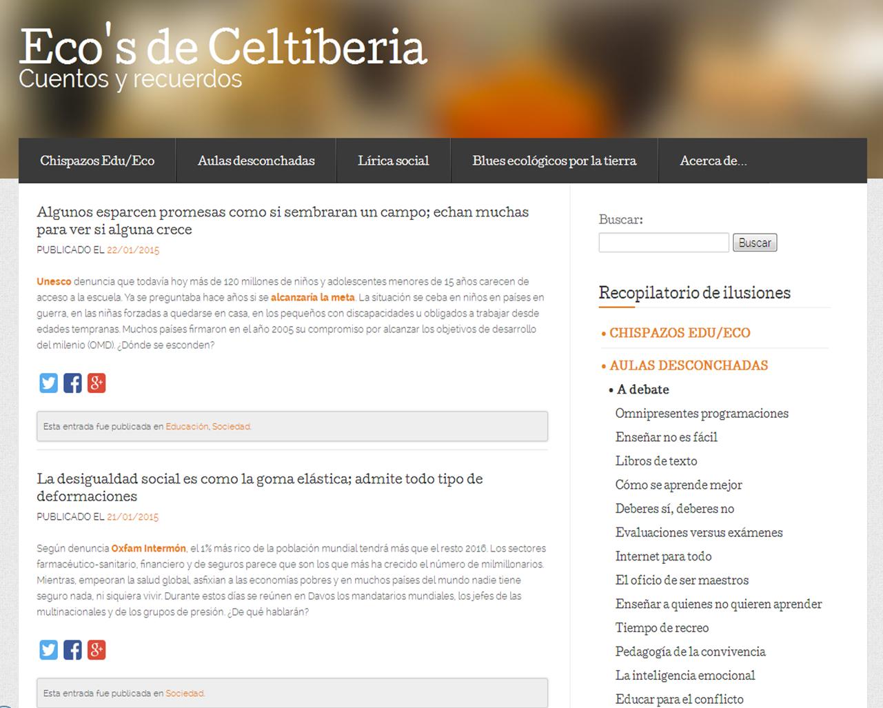 www.ecosdeceltiberia.es