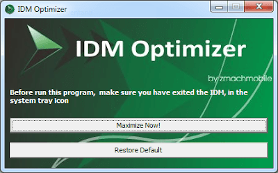 Optimizer IDM